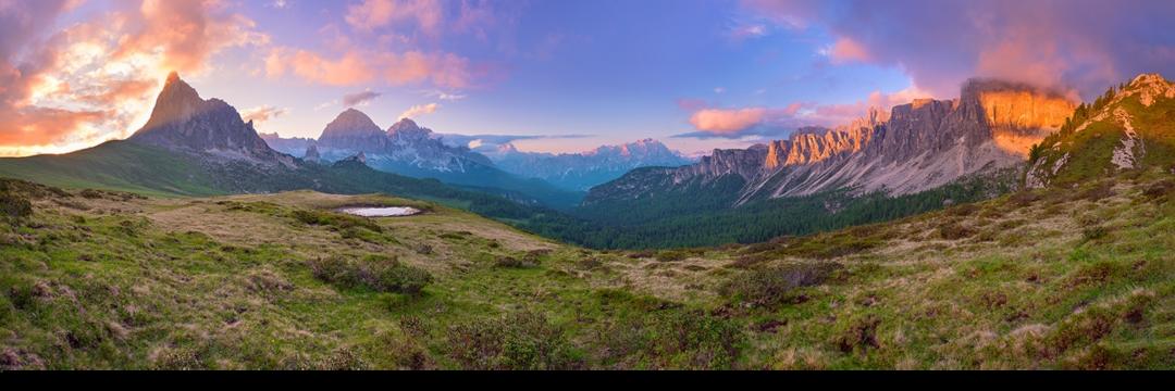 As montanhas mais belas da Europa - Dolomitas, Itália