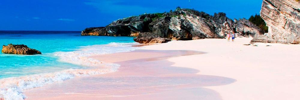 Praias de Areia Colorida